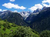 Panorama from Soglio