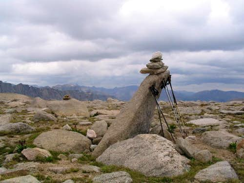 Curious Cairn in the Winds