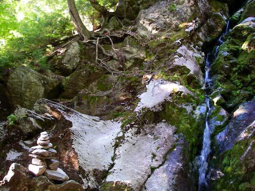 Upper Race Brook  Falls