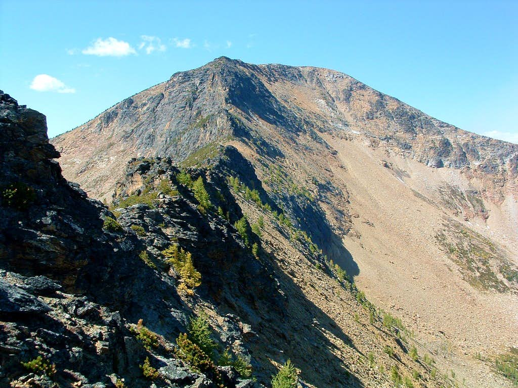 Final Ridge to St Joseph