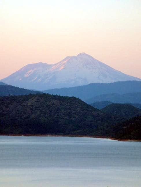 Photo of Mt. Shasta from the...