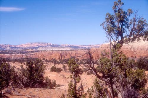 Area near Kodachrome Basin
