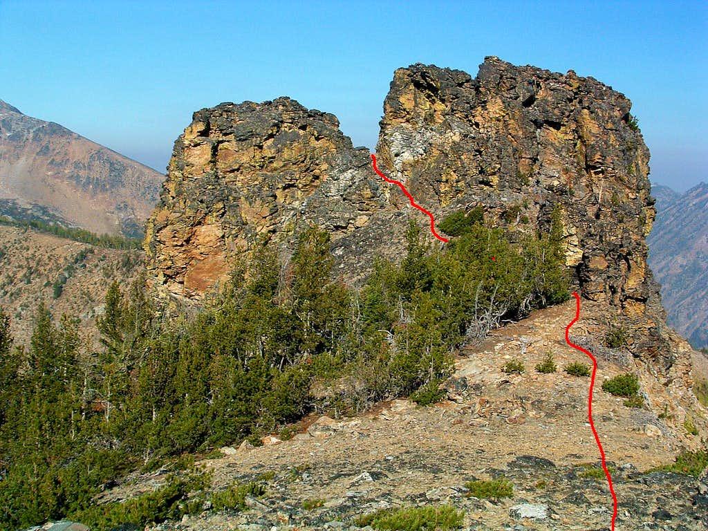 Route Through Point 8755