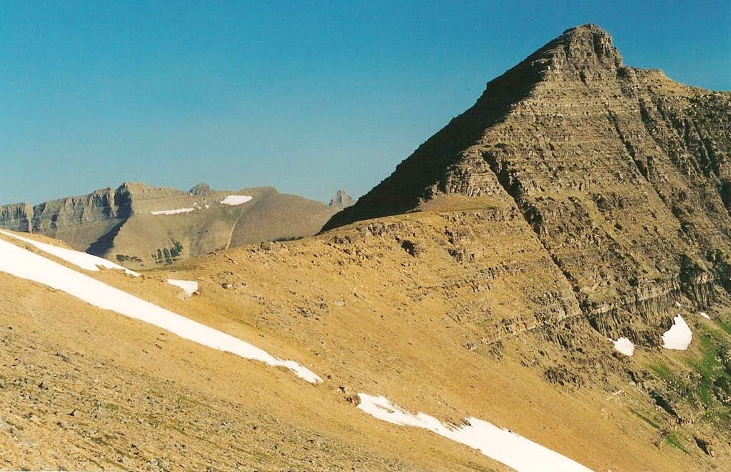 Cut Bank Pass and McClintock Peak