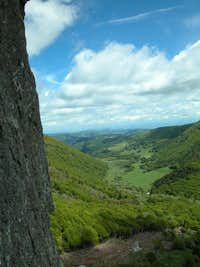 Massif Central - climbing with a view