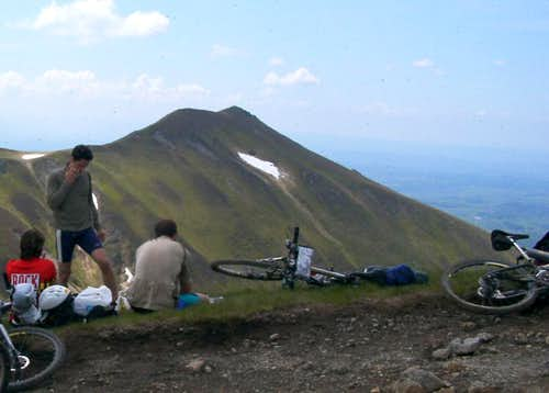 Massif Central - mountain biking