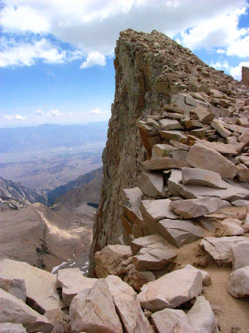 Back of Keeler Needle
