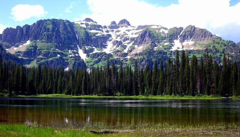 Frog Lake & Calowachan Peak