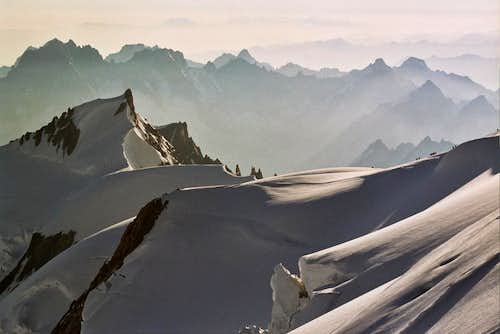 Mont Blanc normal route