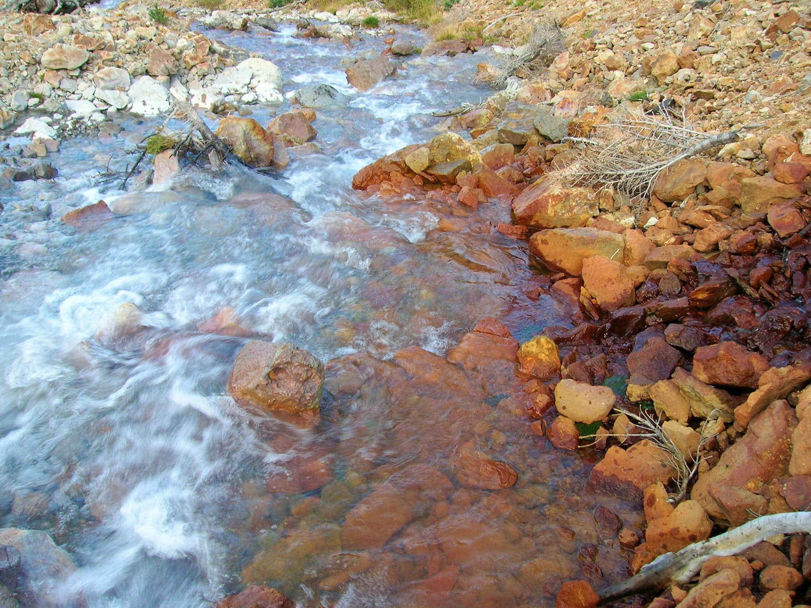 Colors.  Mountain Streams, Rivers & Creeks