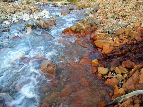 Colors.  Mountain Streams, Rivers & Creeks