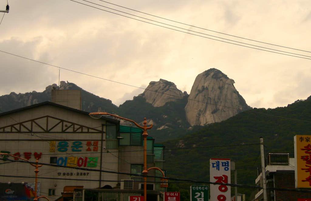 The 3 peaks