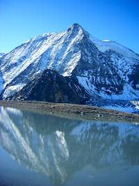 Reflection of Mont Blanc de Cheilon