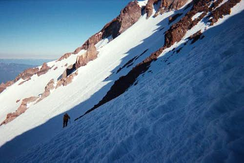 Skirting the Casaval Ridge we...