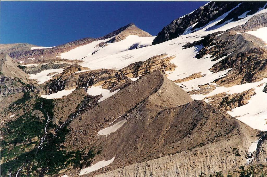 Blackfoot Glacier Moraine