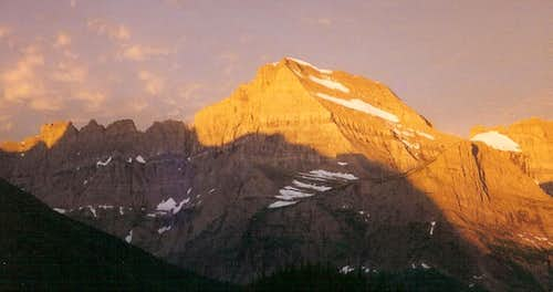 Mount Gould, Dawn