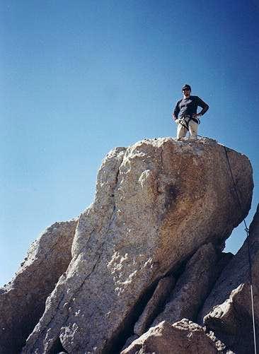 Misha on the summit of...