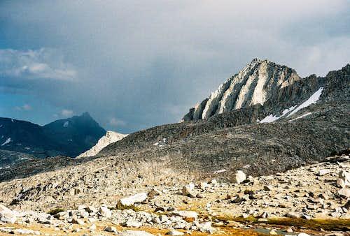 Storm over Mt. Humphreys, September 13, 2006