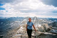 On the summit of Mt. Julius Caesar