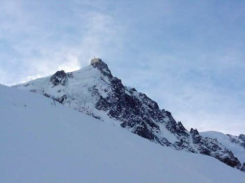 Aiguille du Midi from Plan -...