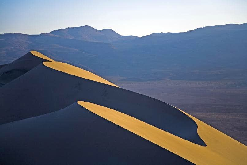 eureka Dunes-Death Valley