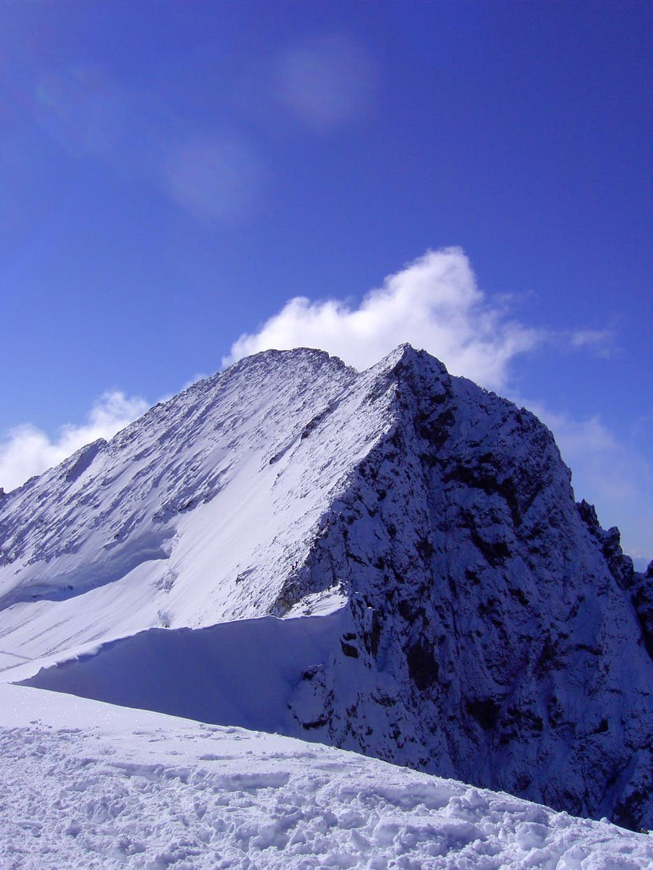 Summit ridge of Barre des Écrins