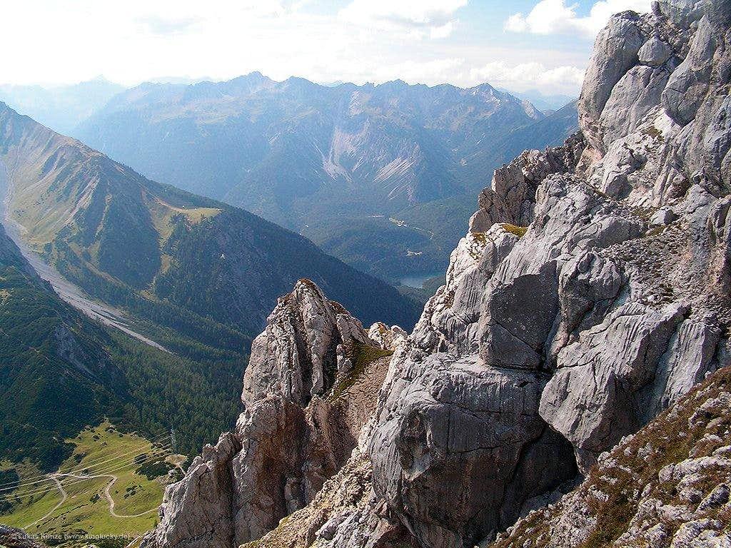 Great view towards Fernpass