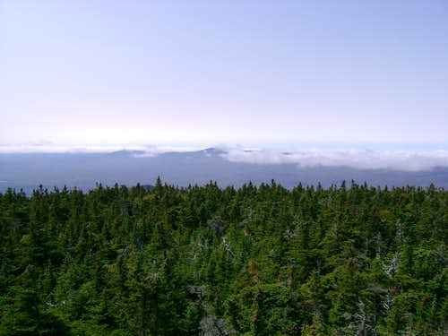 Another view - Monadnock in the clouds