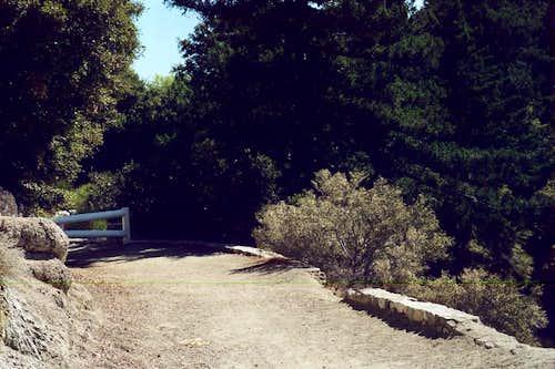 Eaton Saddle Trailhead Gate, San Gabriel Mountains