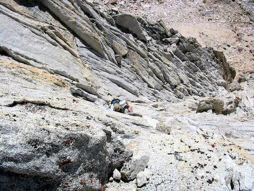 West Face of Blacksmith Peak