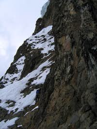 On the upper section