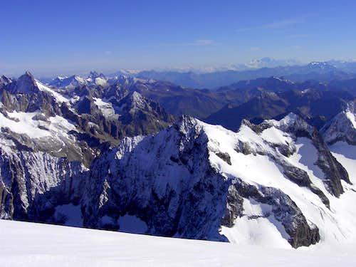 Top of Barre des Écrins