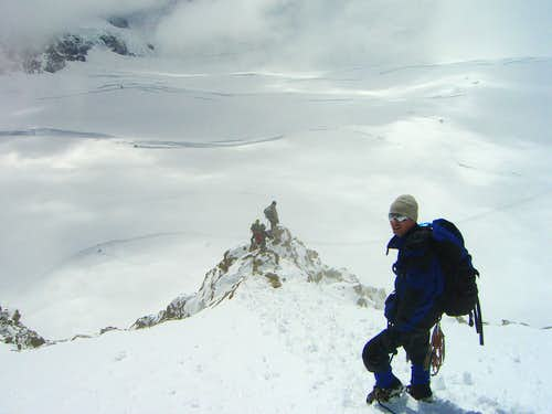 Me on Mönch SE ridge