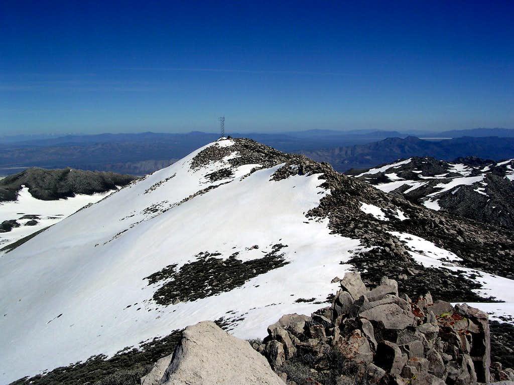 Eastern summit view