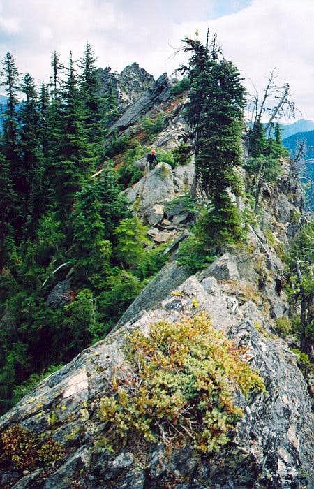 Engadi - east ridge