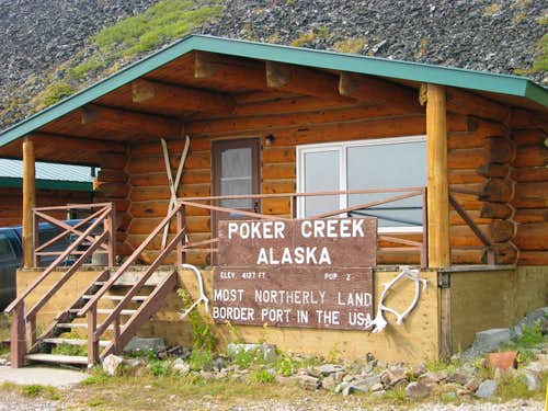Poker Creek, Alaska