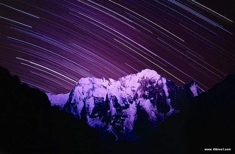 Night over Dykh-Tau