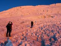 Sunrise climbers