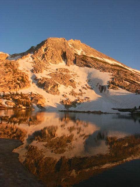 Echo Ridge from Budd Lake -...