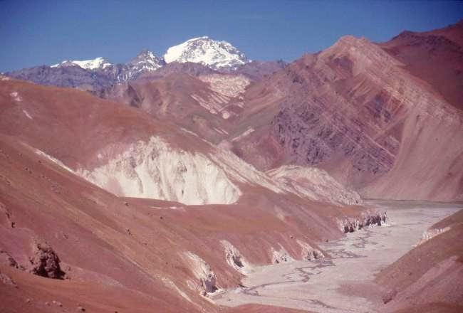 Aconcagua from the east. In...