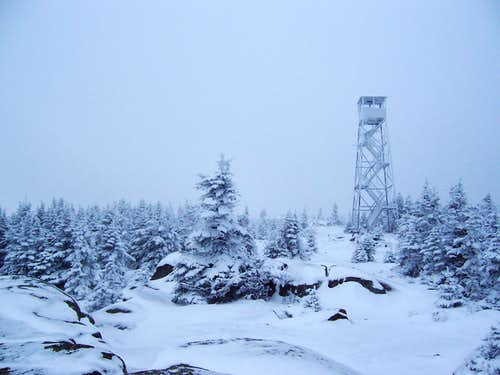 Lyon Mountain (NY) Fire Lookout