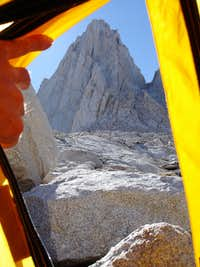Studying East Buttress