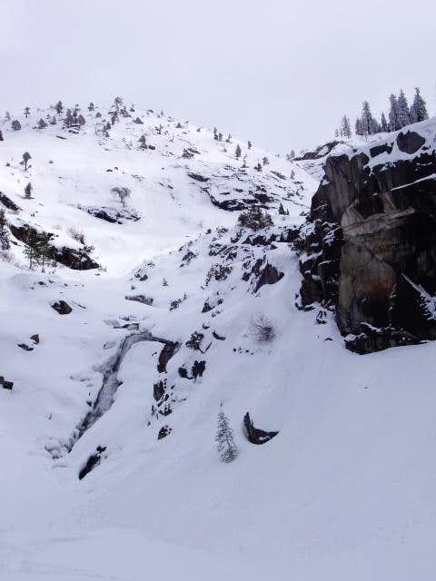 Tokopah Falls in the Winter