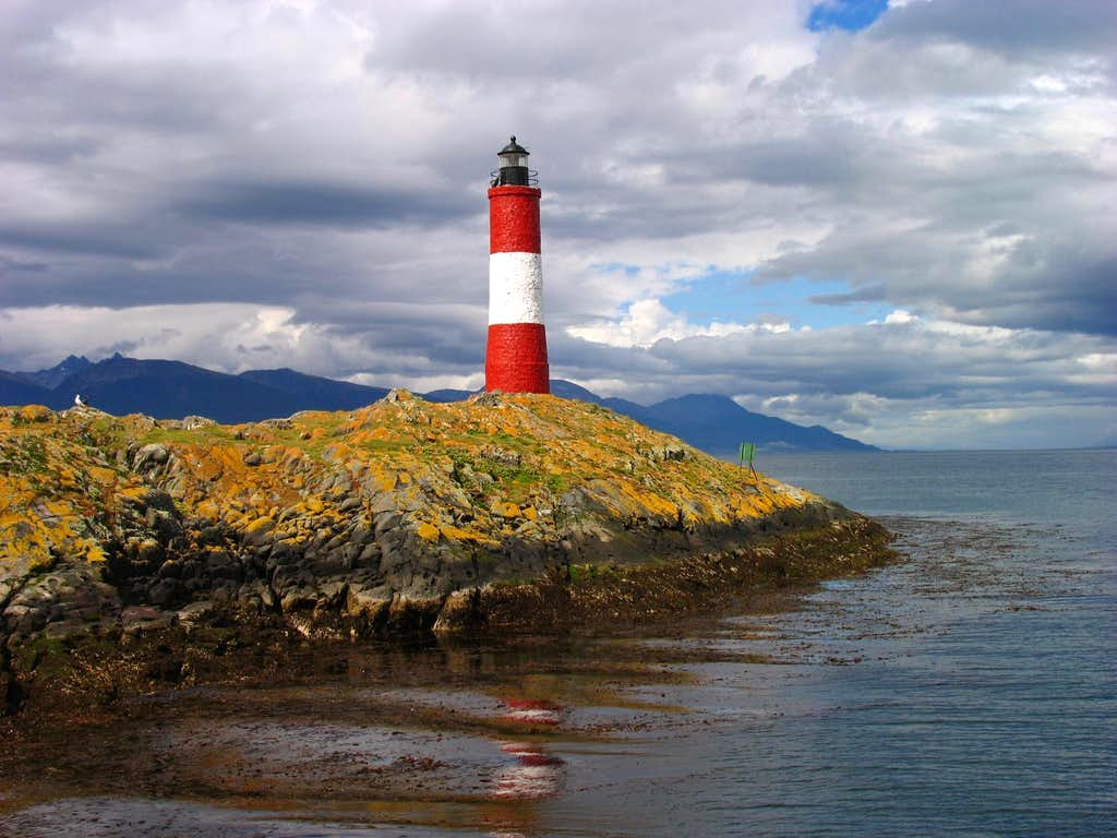 Famous Light House in Beagle Channel