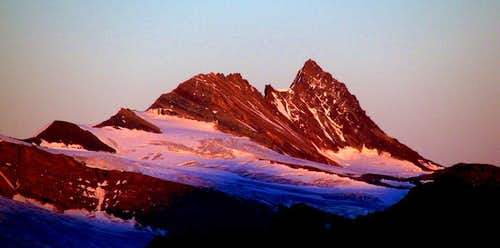 Alpenglow on Grossglockner
