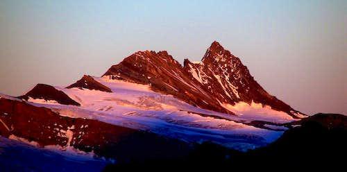 Alpenglow on Grossglockner