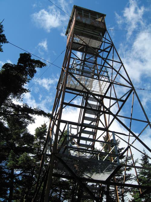Glastenbury Mountain Firetower