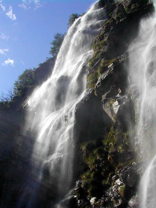 Acqua Fraggia waterfalls