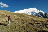 Climb to Yazghil Sar s Base Camp
