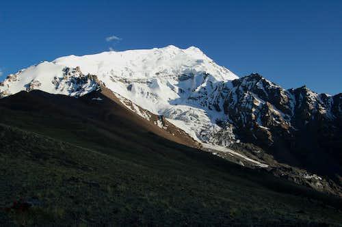 Yazghil Sar from around 3700m